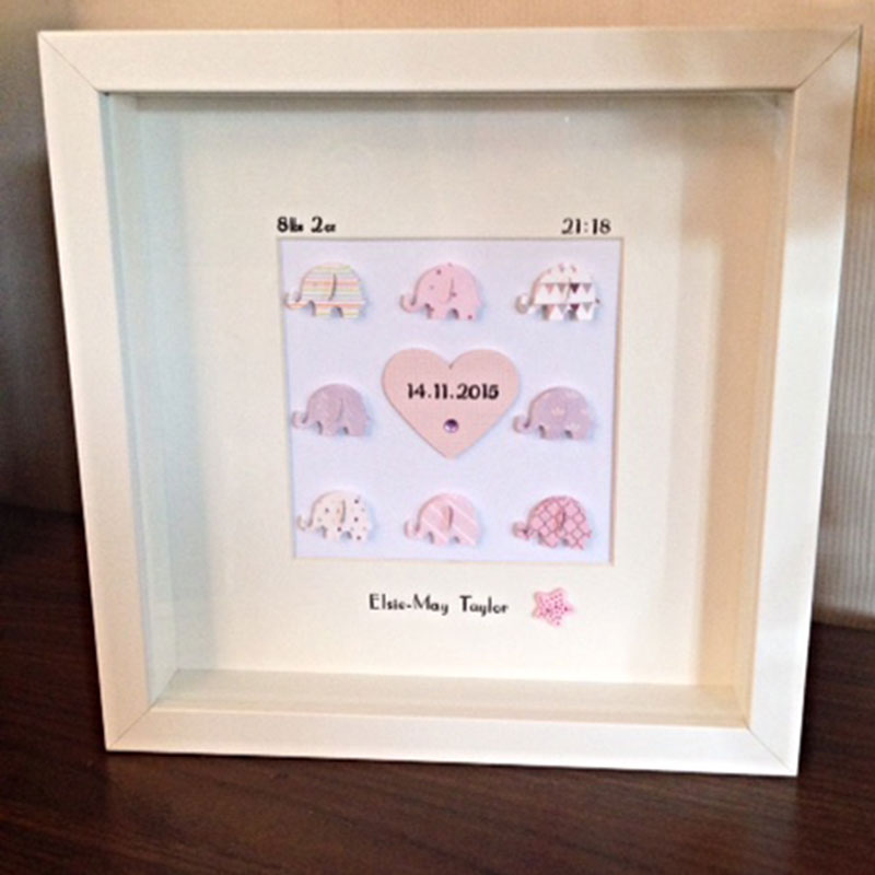 Baby Frame Little Crafted Treasures