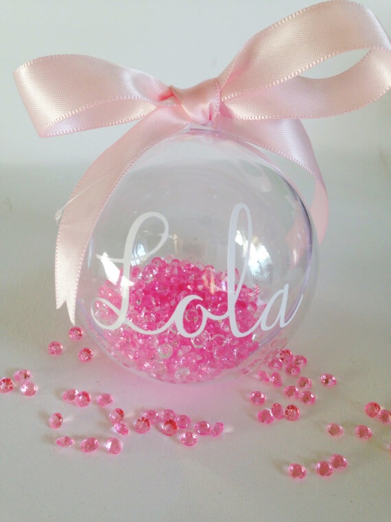 PERSONALISED CHRISTMAS | REMEMBRANCE BAUBLES ...